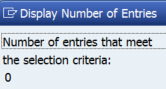 Figure 5. The number of entries in the Active Table after activation